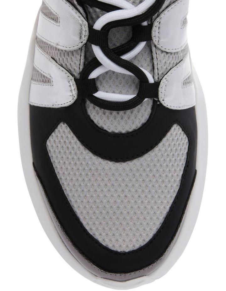 K2920229 Lacey Silver/Black Sneaker image 3