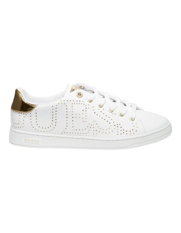Carterr White/Oro Sneaker image 1