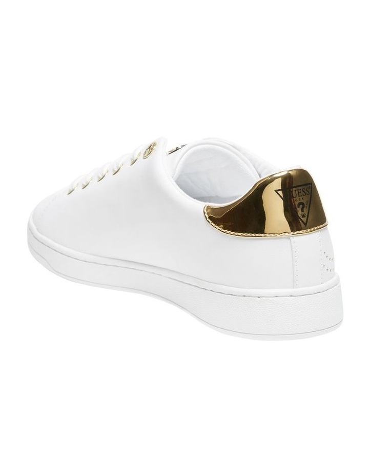 Carterr White/Oro Sneaker image 2