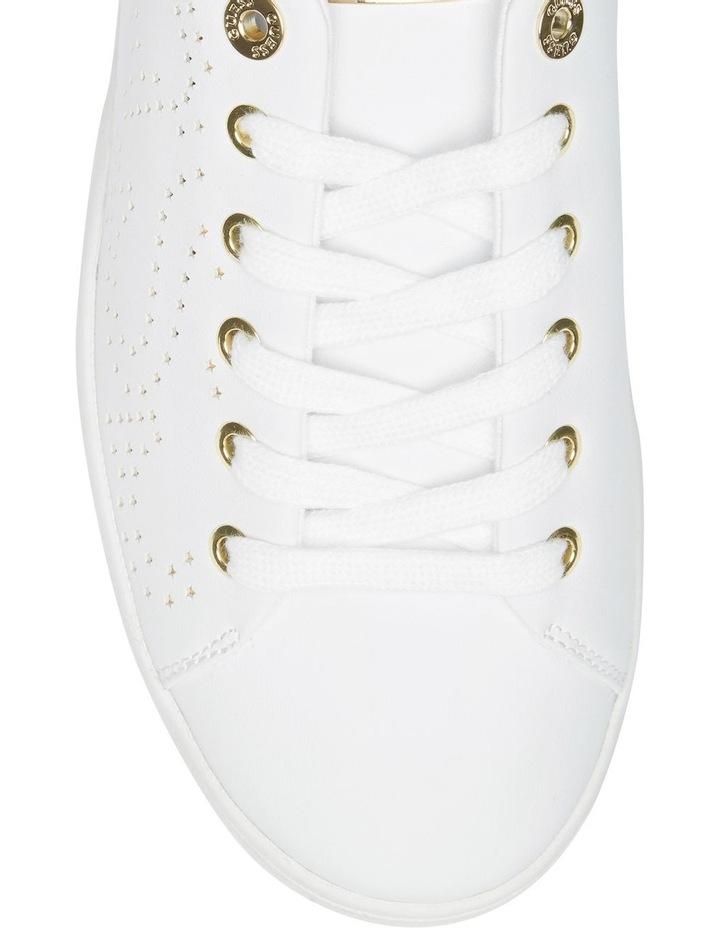 Carterr White/Oro Sneaker image 3