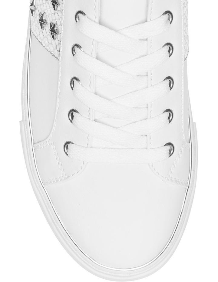 Gamer7 White/Silver Sneaker image 3