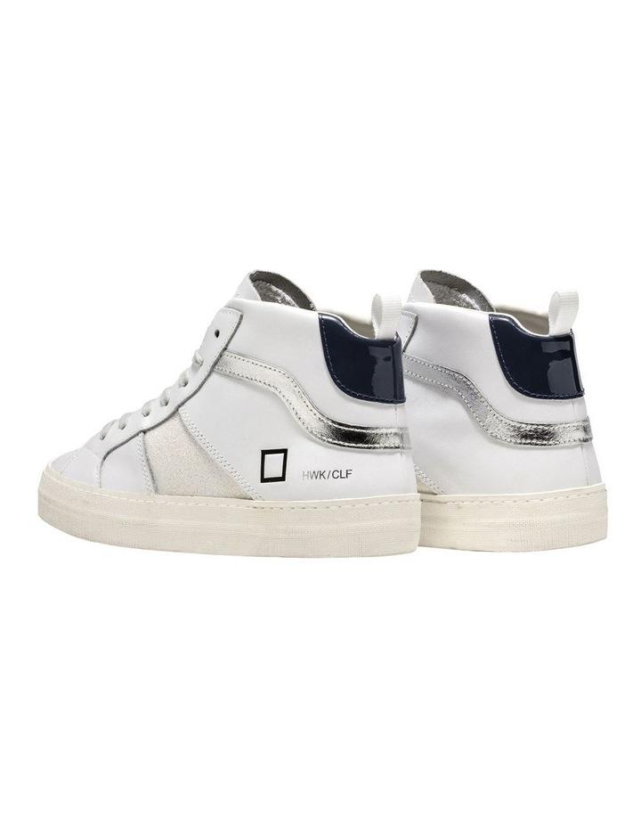 Hawk White/Blue Sneaker image 4