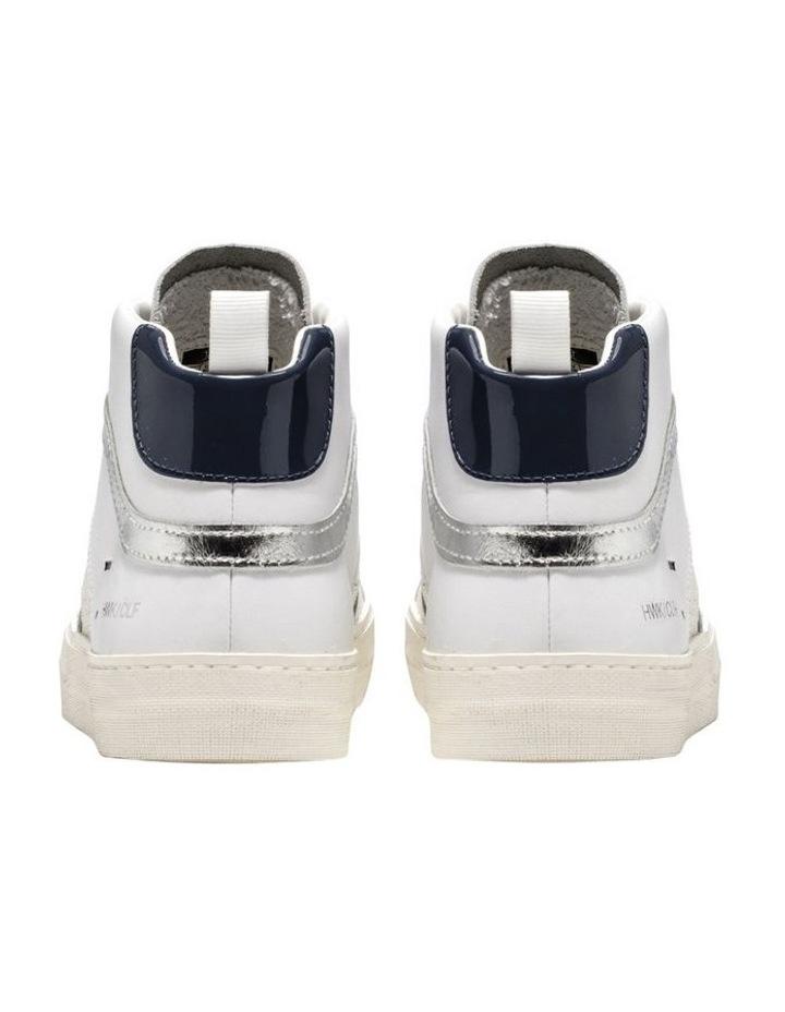 Hawk White/Blue Sneaker image 5