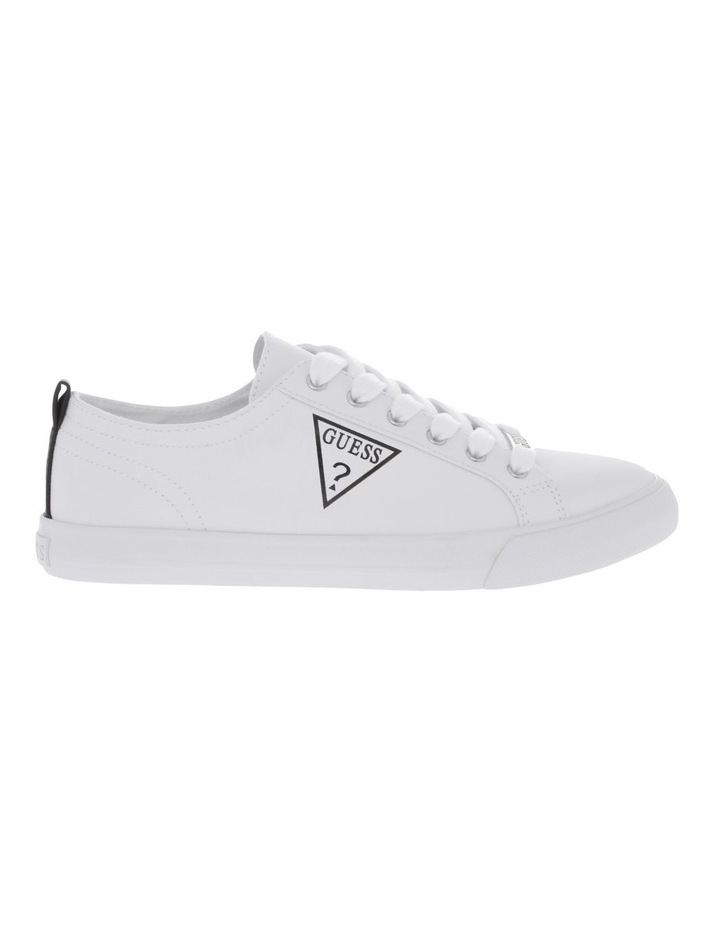 Guess Caught White Sneaker   MYER