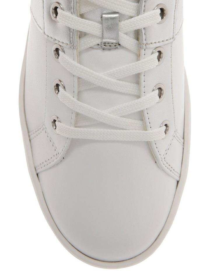 White & Silver Sneaker image 2
