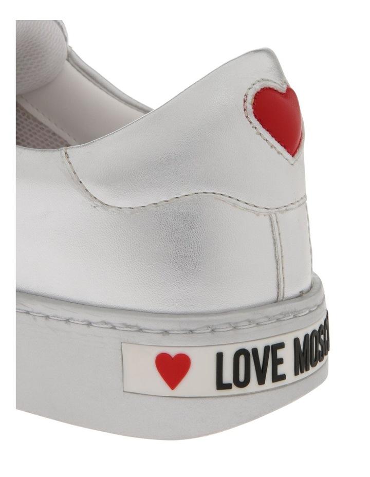 White & Silver Sneaker image 4