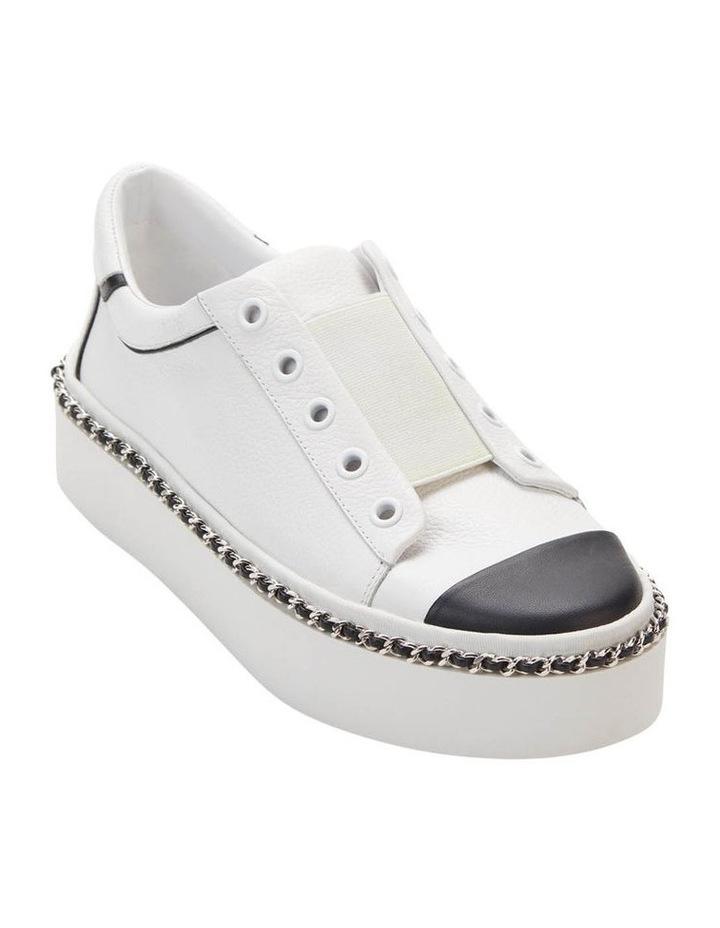 KL103595 Axelle Bright White/Black Sneaker image 1