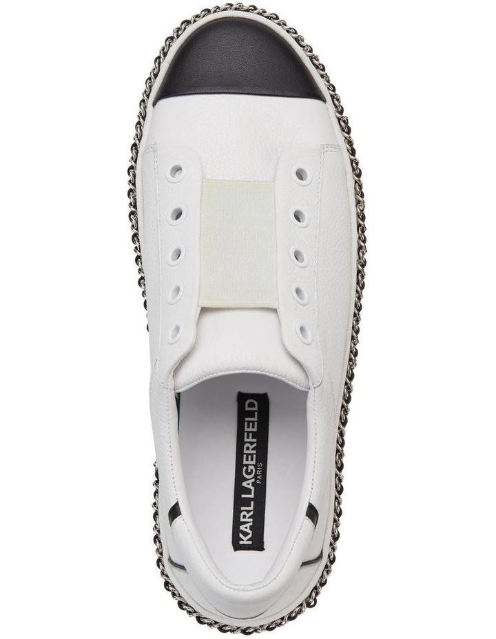 KL103595 Axelle Bright White/Black Sneaker image 3