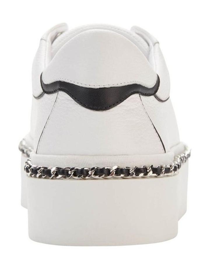 KL103595 Axelle Bright White/Black Sneaker image 4