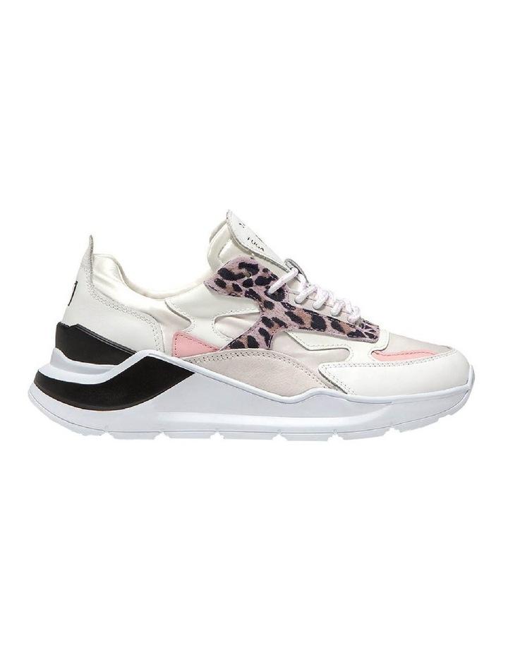 Fuga Satin Leopard Wh-Pink Sneaker image 1