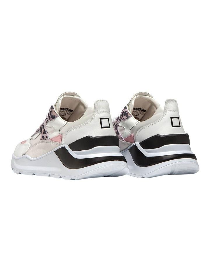 Fuga Satin Leopard Wh-Pink Sneaker image 4
