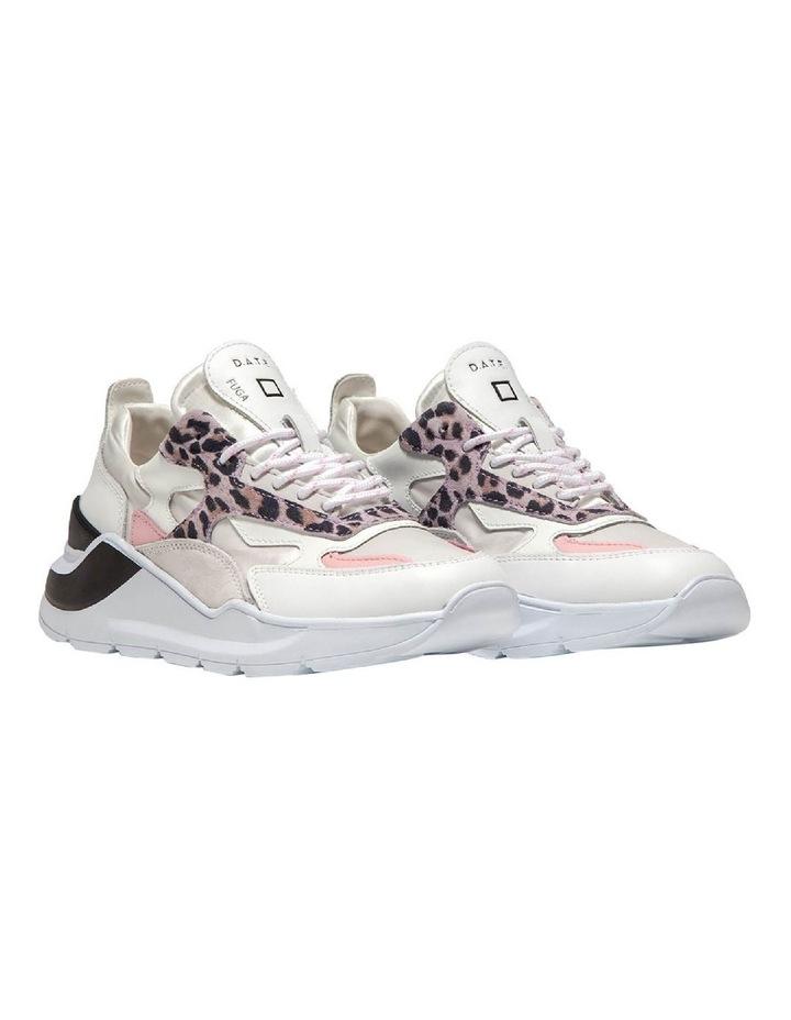 Fuga Satin Leopard Wh-Pink Sneaker image 5