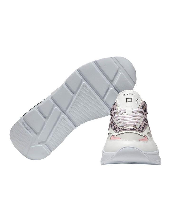 Fuga Satin Leopard Wh-Pink Sneaker image 6
