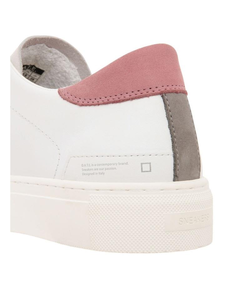Vertigo Calf Wh-Pink Sneaker image 4