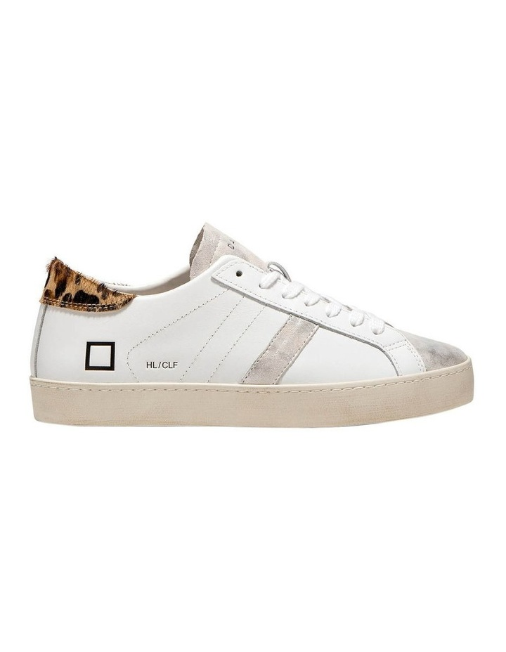 Hill Low Calf Wh-Leopard Sneaker image 1