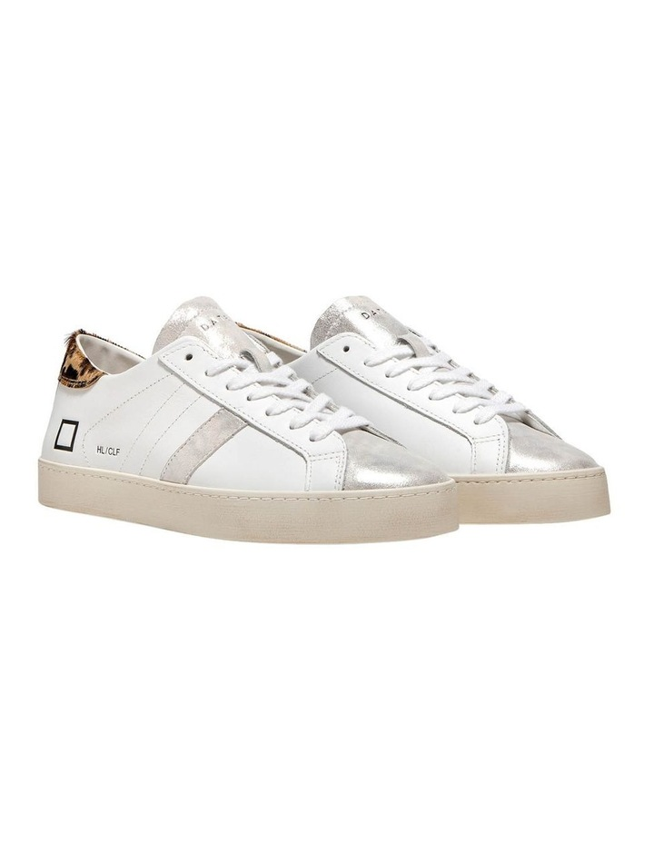 Hill Low Calf Wh-Leopard Sneaker image 2