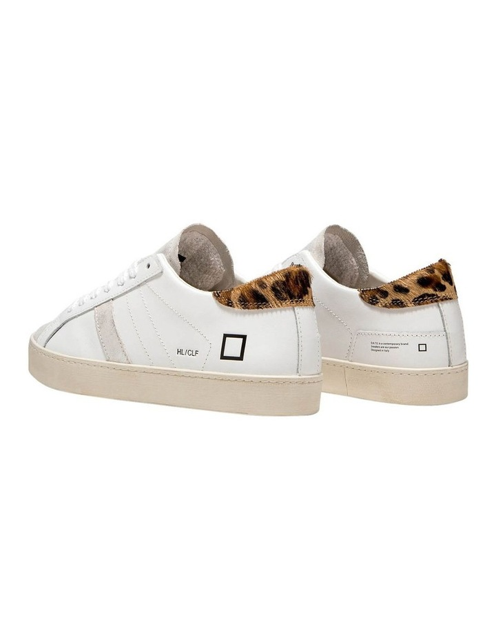 Hill Low Calf Wh-Leopard Sneaker image 4