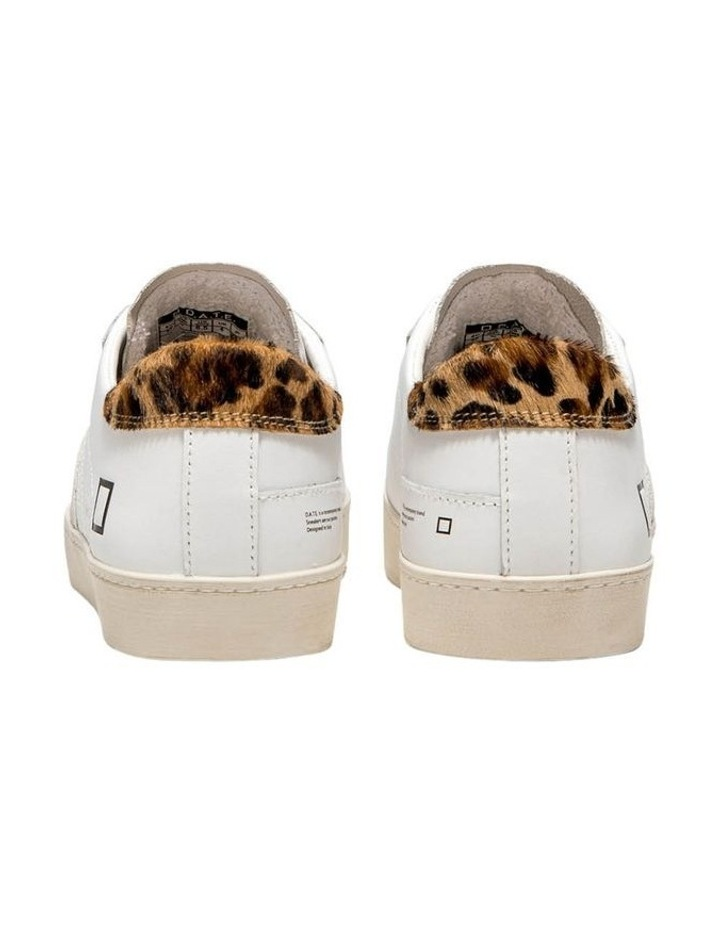 Hill Low Calf Wh-Leopard Sneaker image 6