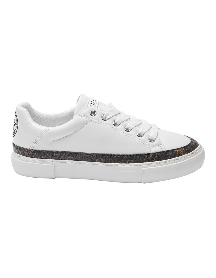 Gorla White/Brown/White Whmll Sneaker image 1