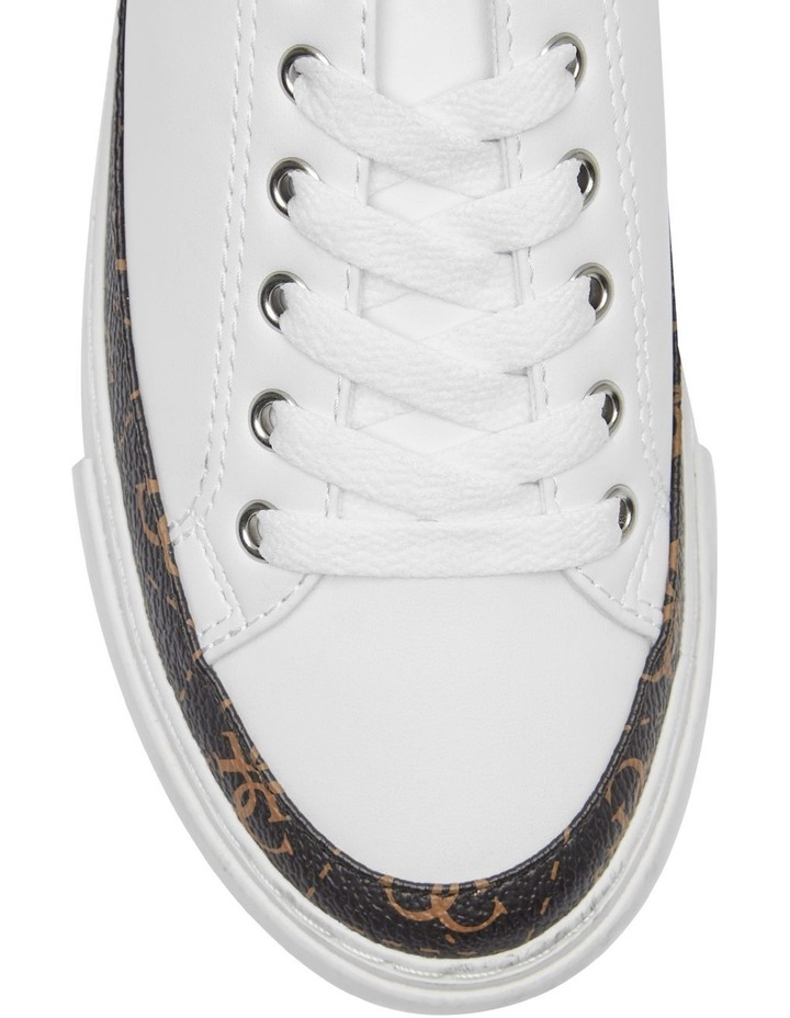 Gorla White/Brown/White Whmll Sneaker image 3