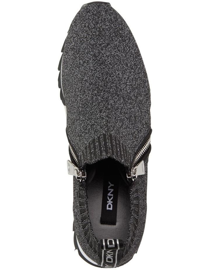 Azza K2018780 Black Reflective Sneaker image 3