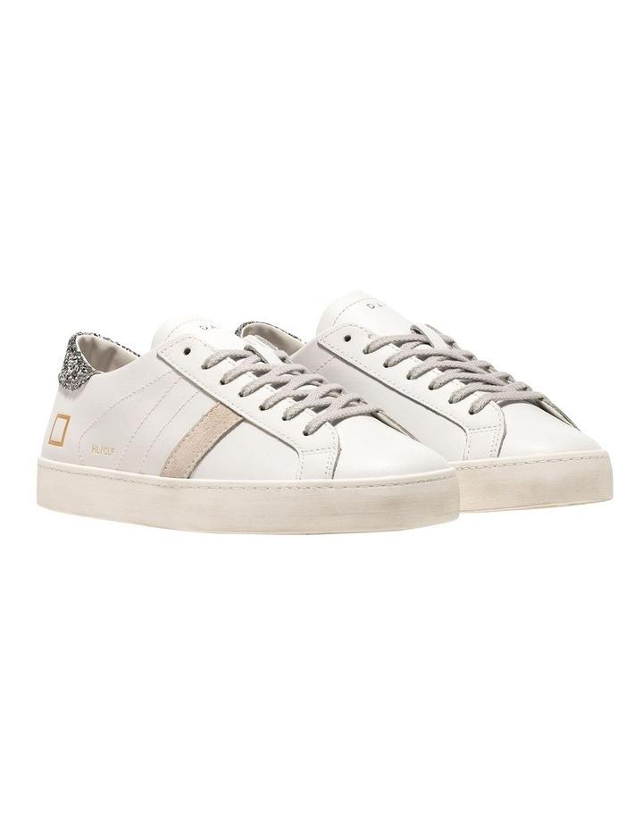 Hill Low Calf White-Silver Sneaker image 2