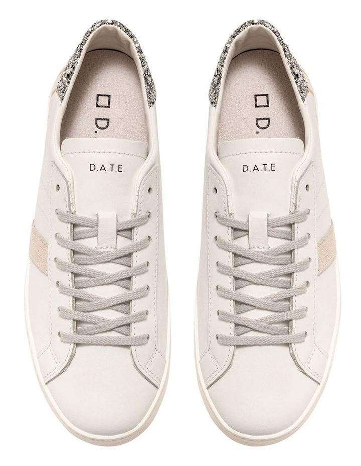 Hill Low Calf White-Silver Sneaker image 3