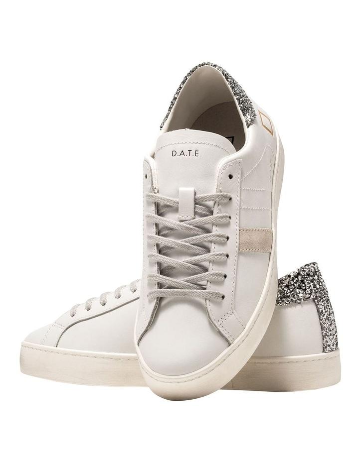 Hill Low Calf White-Silver Sneaker image 4