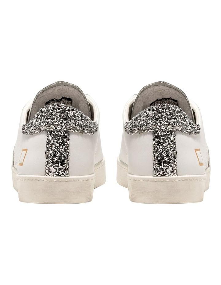 Hill Low Calf White-Silver Sneaker image 5