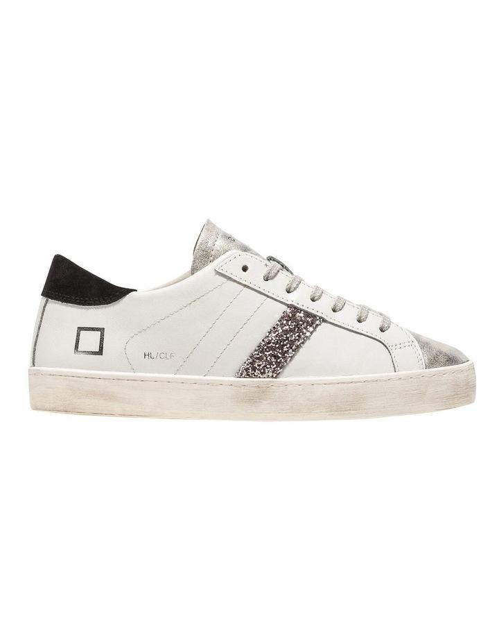Hill Low Calf White-Black Sneaker image 1