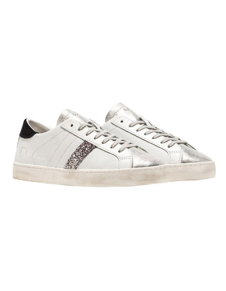 Hill Low Calf White-Black Sneaker image 2