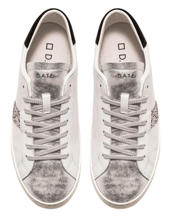 Hill Low Calf White-Black Sneaker image 3