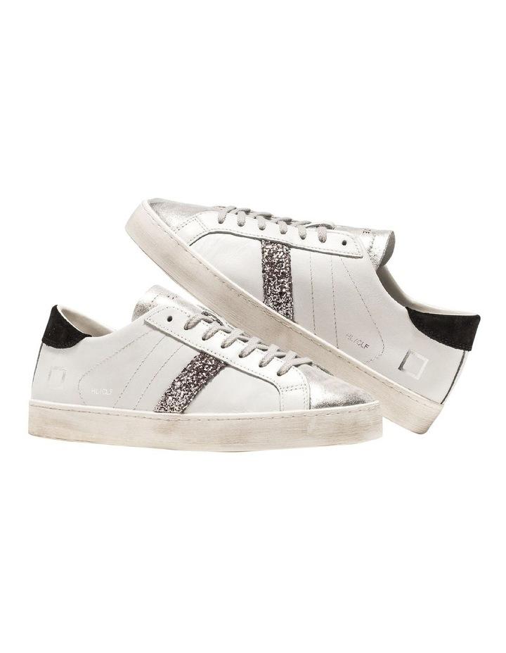 Hill Low Calf White-Black Sneaker image 4
