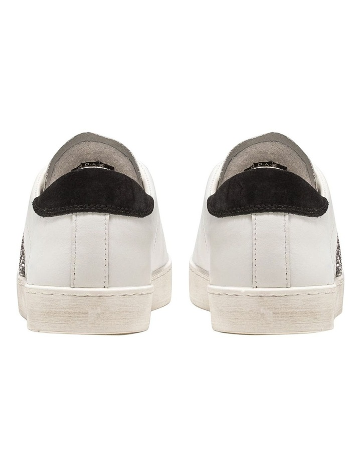 Hill Low Calf White-Black Sneaker image 5