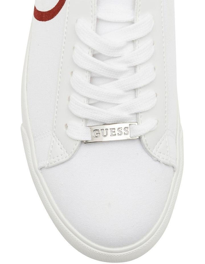 Garit2 White/Red Sneaker image 3