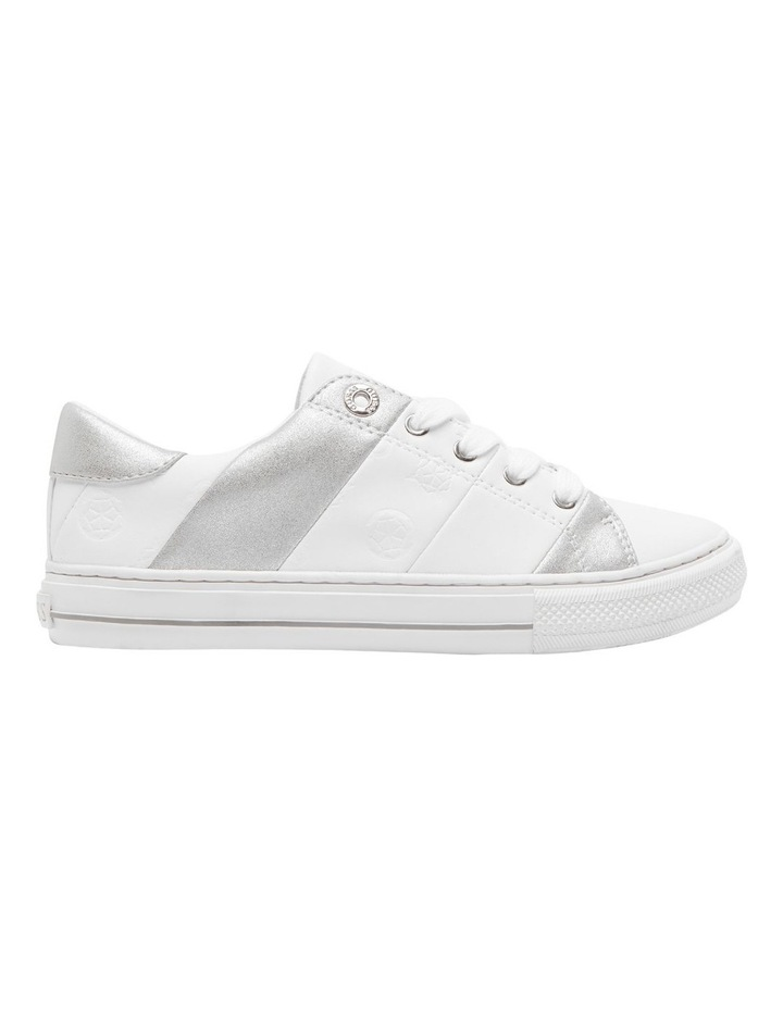 Guess Lust White/White/Silver Sneaker