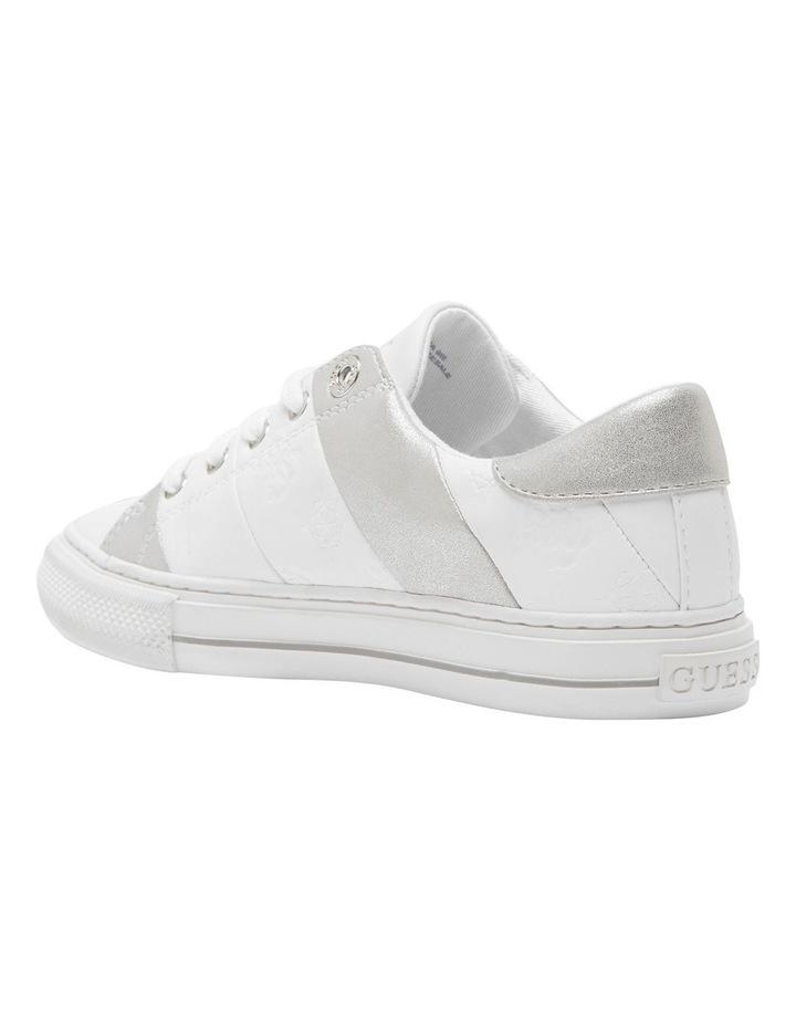 Lust White/White/Silver Sneaker image 2