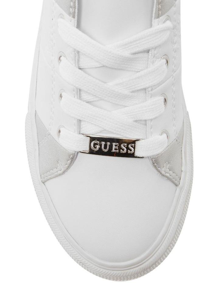 Lust White/White/Silver Sneaker image 3