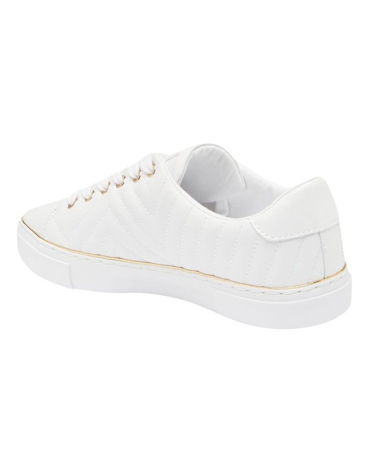 Grasiee-A White/White Sneaker image 2