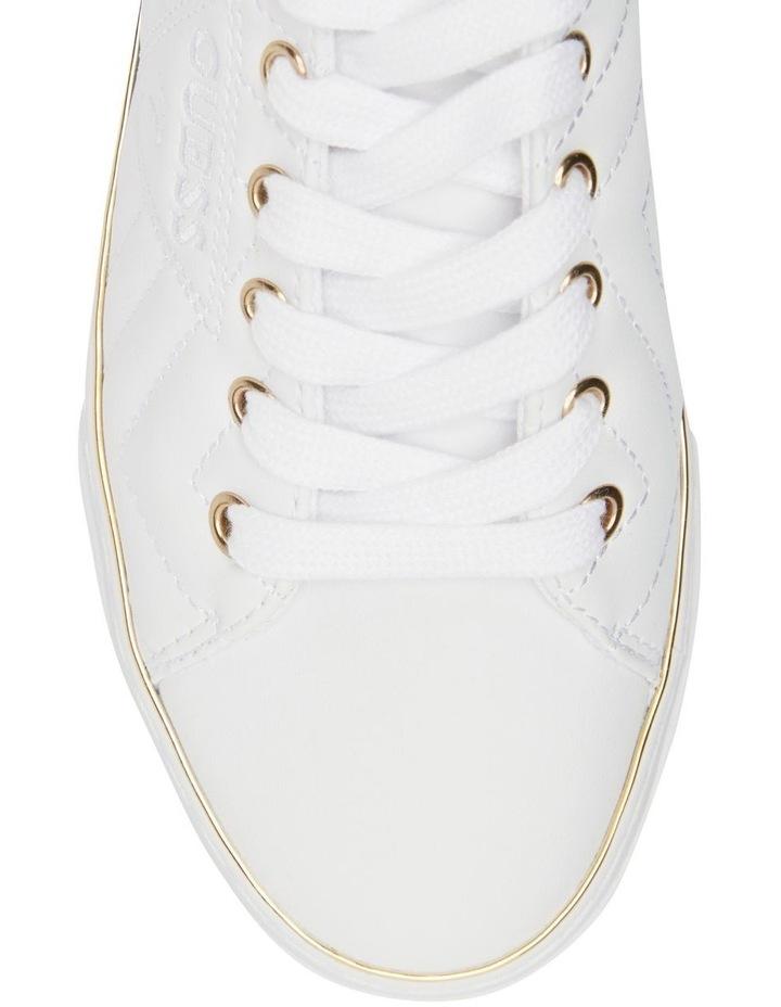 Grasiee-A White/White Sneaker image 3
