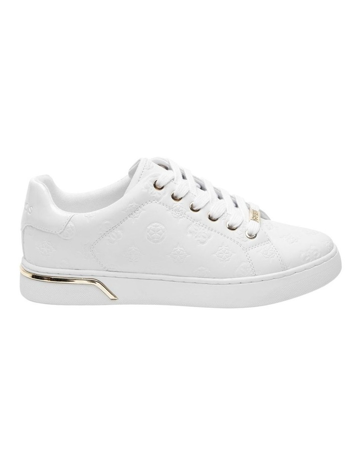 Rollin White Lace-Up Sneaker image 1