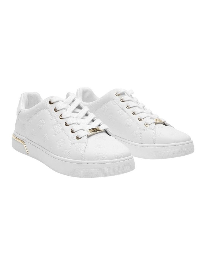 Rollin White Lace-Up Sneaker image 2