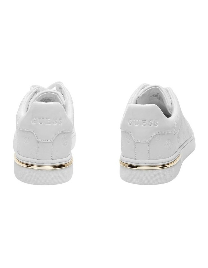 Rollin White Lace-Up Sneaker image 3