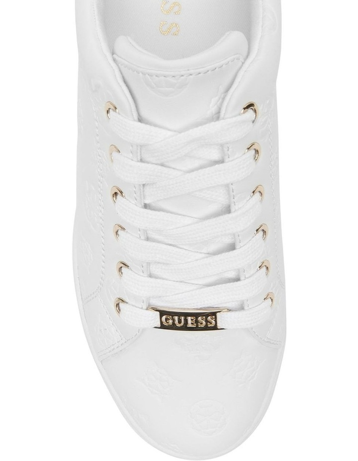 Rollin White Lace-Up Sneaker image 4