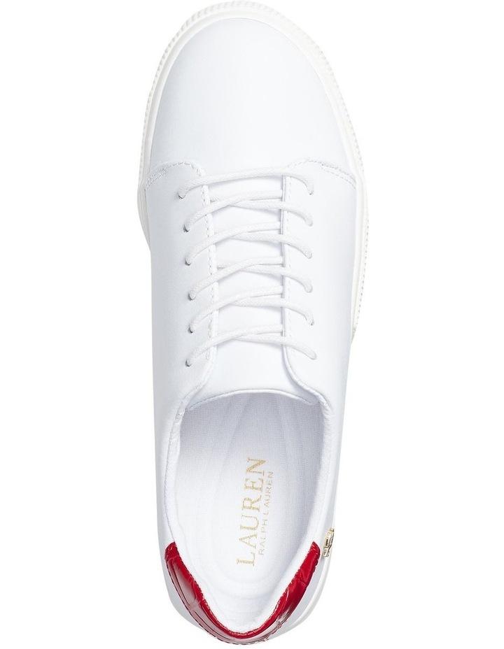 Joana Iii Rl White/ Candy Red Sneaker image 3