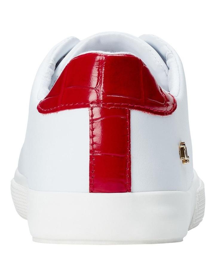 Joana Iii Rl White/ Candy Red Sneaker image 4