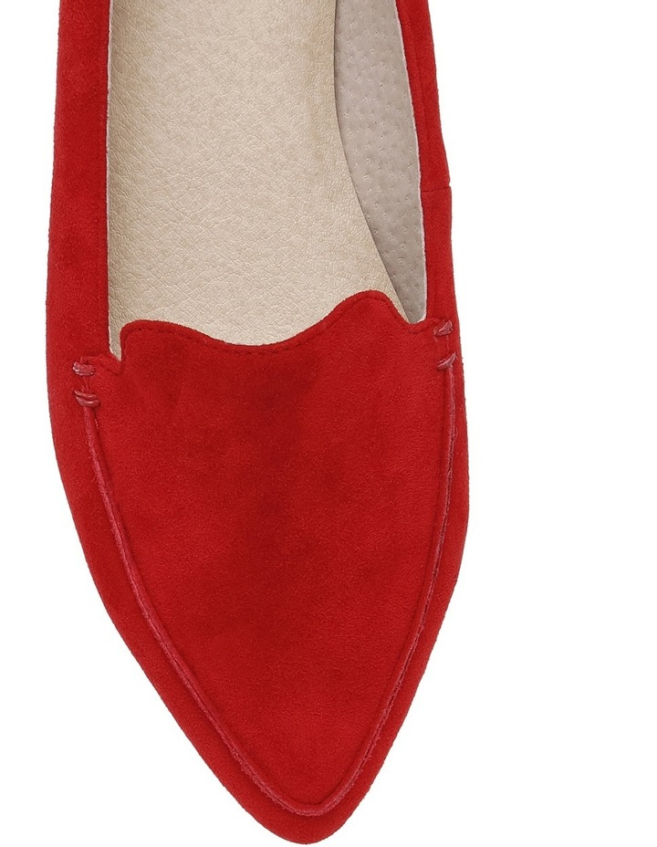 Devon Red Suede Loafer image 3