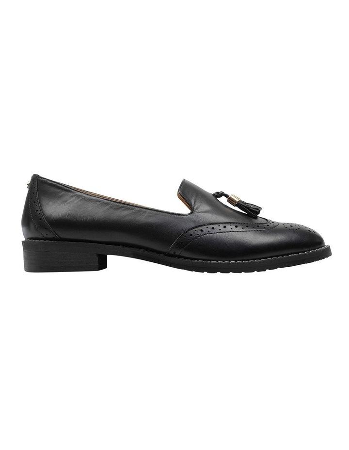 Sadler Black Flat Shoe image 1