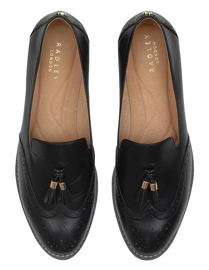 Sadler Black Flat Shoe image 3