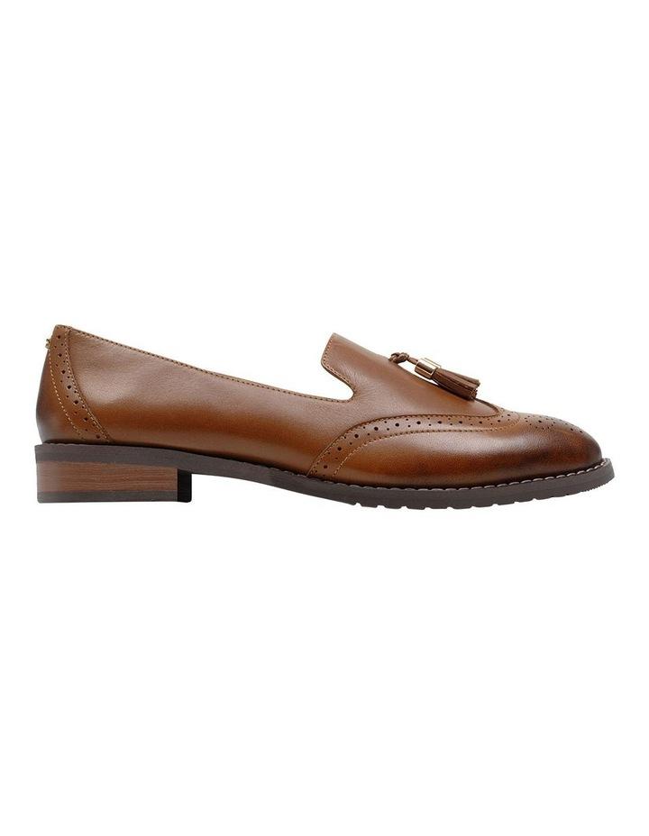 Sadler Brown Flat Shoe image 1